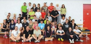 Tournoi amical de badminton LFDV mars 2014
