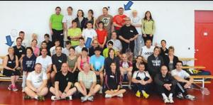 Vainqueurs des tournois amicaux de badminton orgranisés par les fous du volants pour la saison 2013-2014