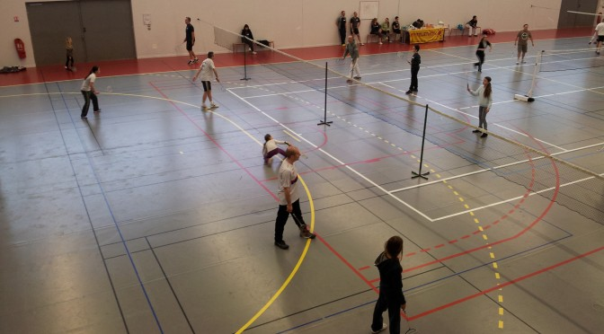 Inscriptions au tournoi amical de badminton du 22/03/2015