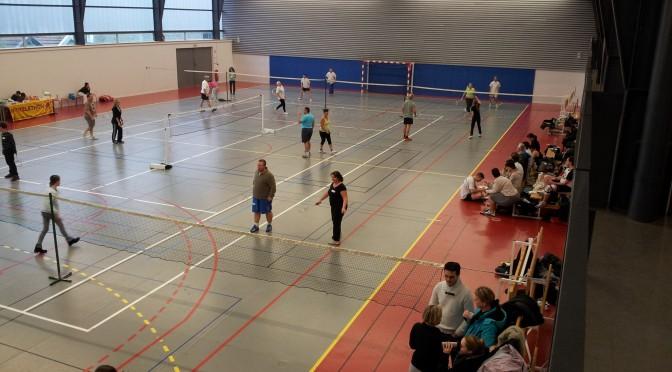 Tournois amicaux de badminton de la saison 2015-2016
