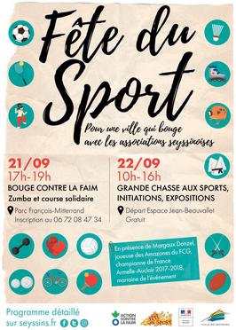 La Fête des Sports – 22 Septembre 2018 à Seyssins